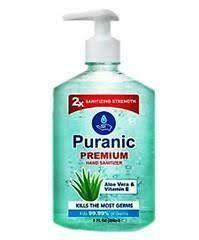 Puranic Aloe Vera and Vitamin E Hand Sanitizer