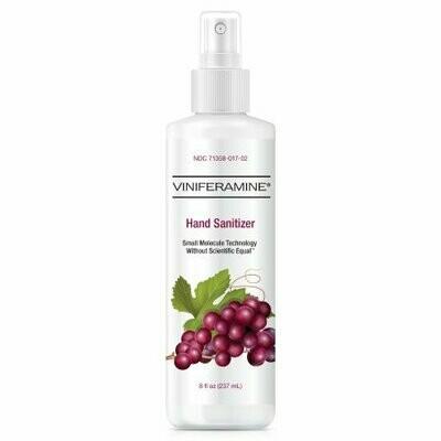 Hand Sanitizer Viniferamine® 8 oz. Ethyl Alcohol Liquid Pump Bottle - EA/1