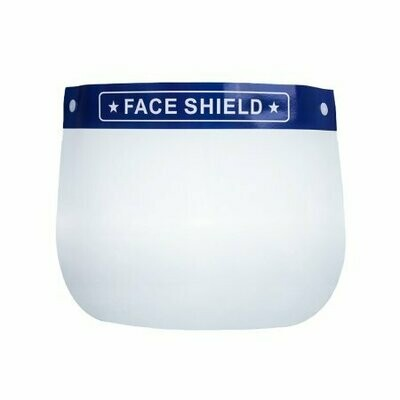 Face Shield One Size Fits Most Full Length Anti-fog Disposable NonSterile - CS/200