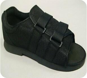 Post-Op Shoe Small Male Black