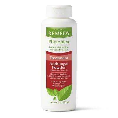 Remedy Phytoplex Antifungal Powder, 3 OZ. (Pack of 2 Bottles)