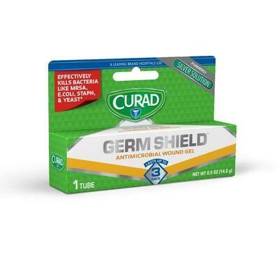 CURAD Silver Solution Wound Gel, 0.5 OZ. (12/CS)
