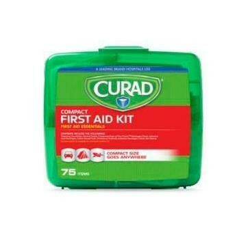 CURAD 75-Piece Compact First Aid Kits / 6 Each / Case