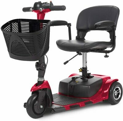 Vive 3-Wheel Mobility Scooter - Electric Powered Mobile Wheelchair Device for Adults