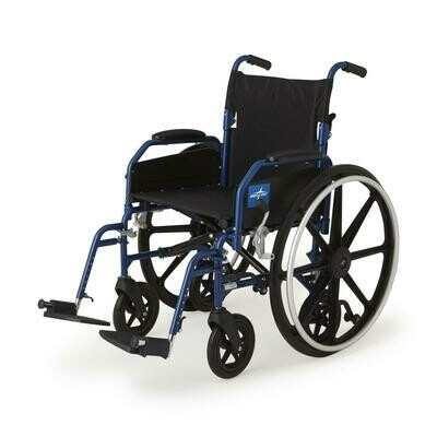 Medline Hybrid 2 Transport Wheelchair - 16