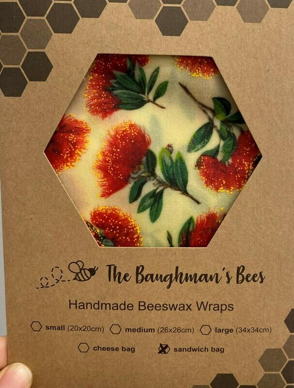 Beeswax Sandwich/Cheese Bag