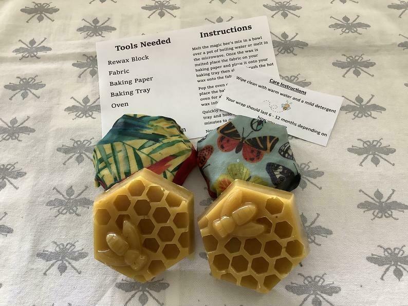 Re-wax Blocks (DIY Bees Wax Wrap)