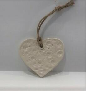 Della's Ceramic Hearts