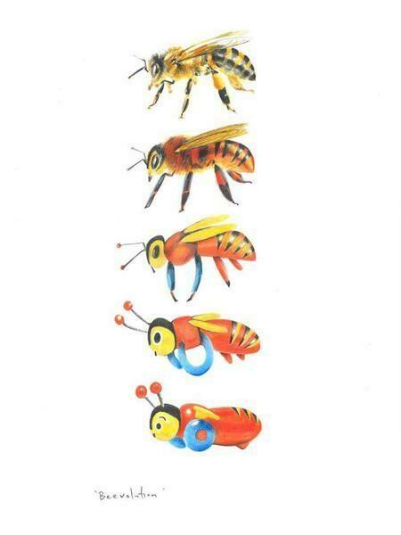 Beevolution by Melissa Sharplin