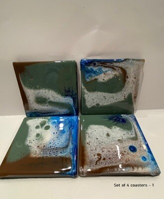 Handcrafted Coasters