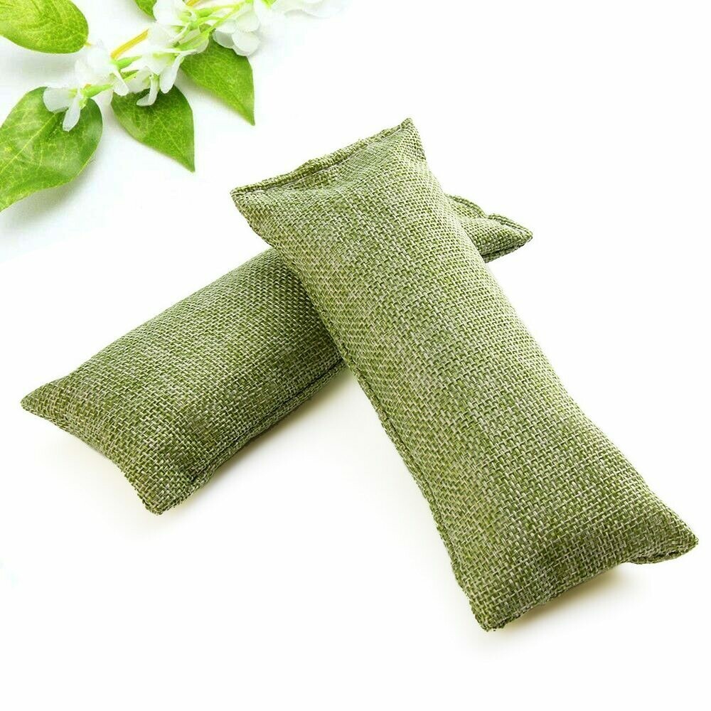 Two Bamboo Charcoal Bags + 5 ml Tea Tree Oil