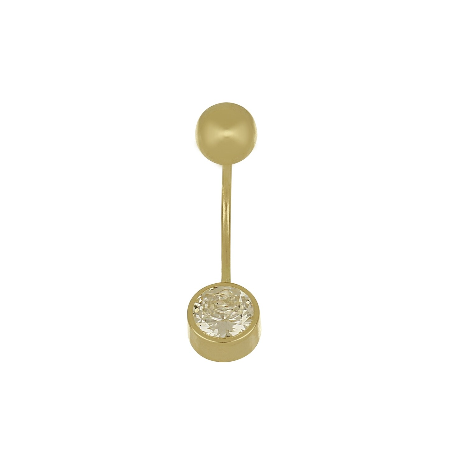 14kt Yellow Gold Piercing