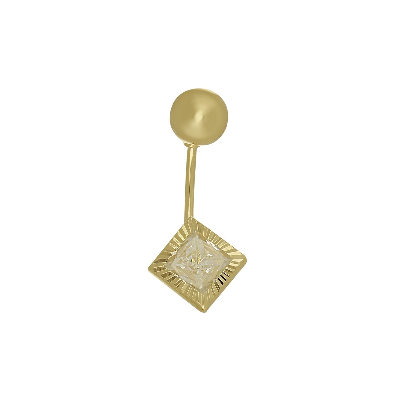 14kt Yellow Gold Piercing