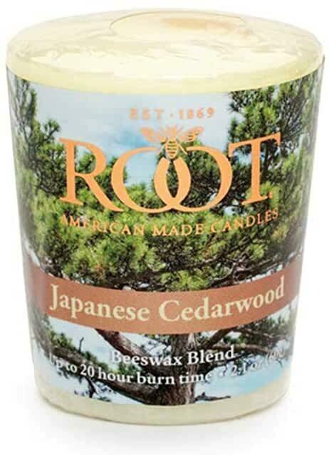ROOT 20Hr Votive - Japanese Cedarwood