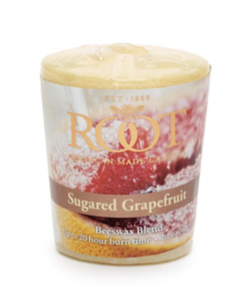ROOT 20Hr Votive - Sugared Grapefruit