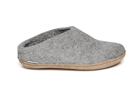 Glerups Slip-On Leather Sole