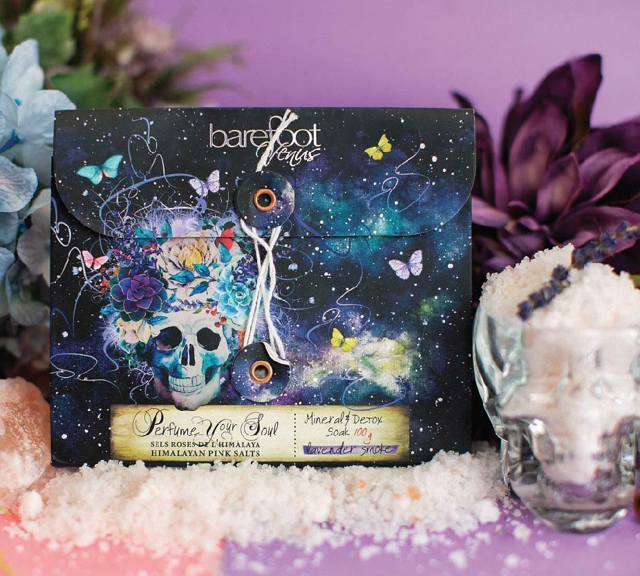 Lavender Smoke Mineral & Detox Soak -  100G