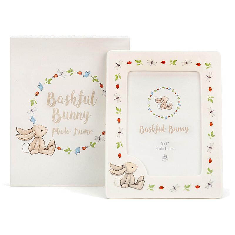 Bashful Bunny Ceramic Frame