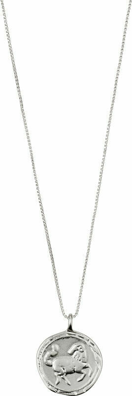 Horoscope Necklace Aries Silver