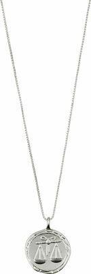 Horoscope Necklace Libra Silver