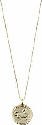 Horoscope Necklace Aries Gold