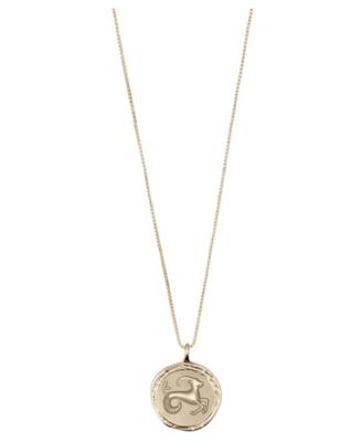 Horoscope Necklace Capricorn Gold