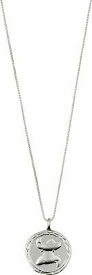 Horoscope Necklace Pisces Silver