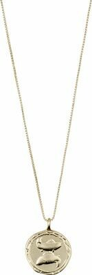 Horoscope Necklace Pisces Gold