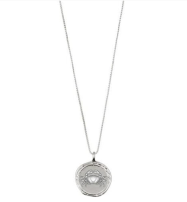 Horoscope Necklace Cancer Silver