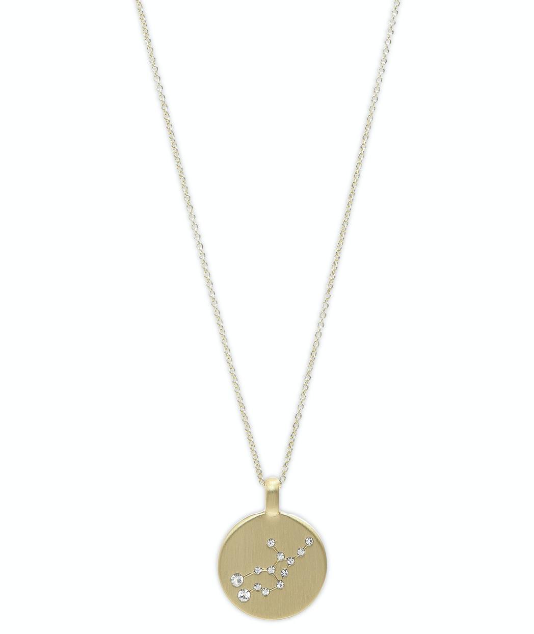 Star Sign Necklace Virgo Gold