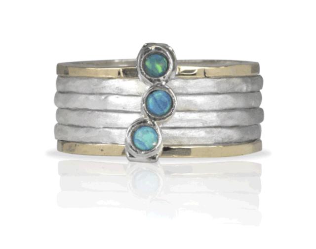 Meditation Ring - Azure MR3 (FINAL SALE - Reg $279