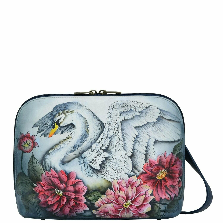 Swan Song Zip Crossbody (Reg $249 - FINAL SALE)