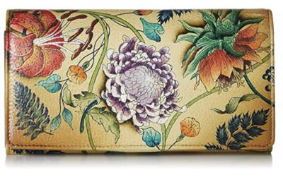 Peaceful Garden Wallet (Reg $140 - FINAL SALE)