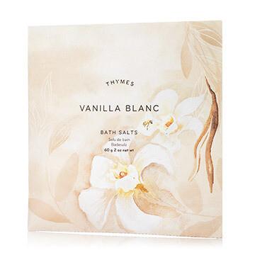 Vanilla Blanc Bath Salt Envelopes