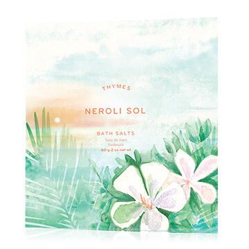 Neroli Sol Bath Salt Envelopes