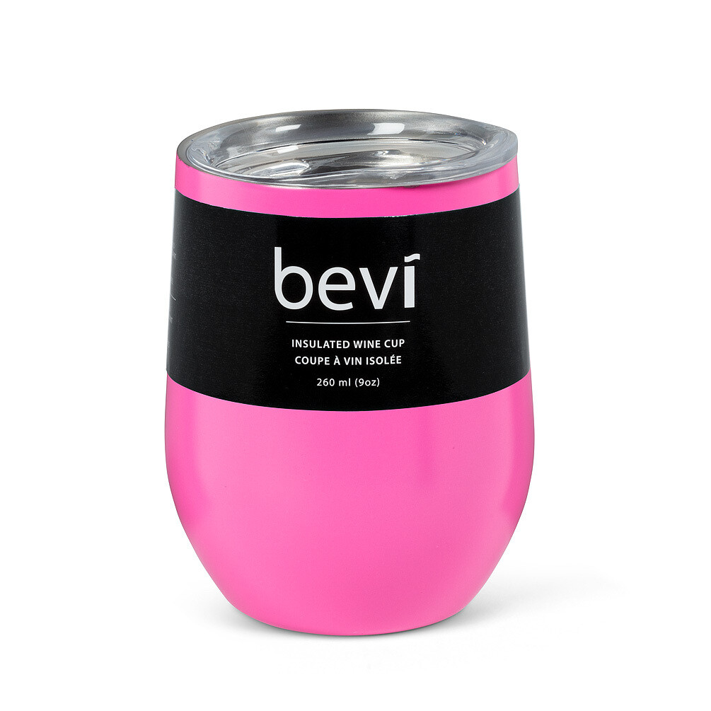 Insulated Wine Tumbler - Pink