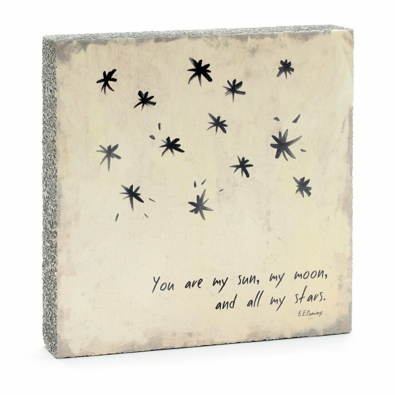 Lost & Found Art - Sun, Moon, Stars