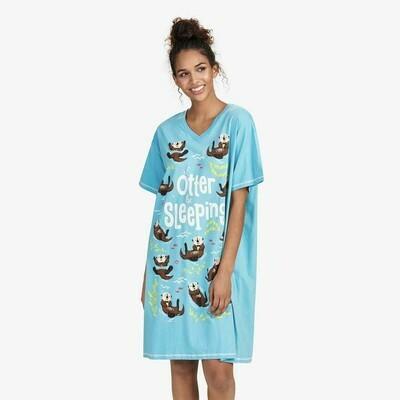 Otter Sleeping Sleepshirt