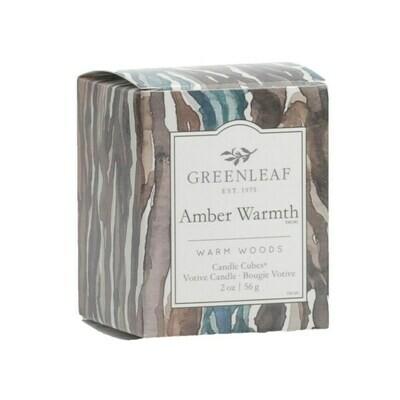 Amber Warmth - Boxed Votive (FINAL SALE)