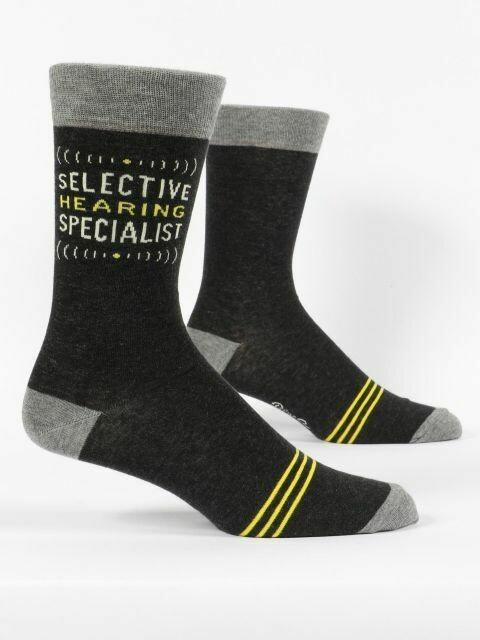 Selective Hearing M-Crew Sock