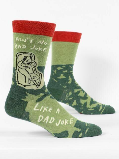 Dad Joke M-Crew Sock