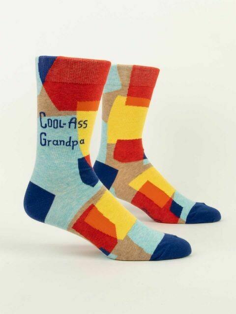 Cool-Ass Grandpa M-Crew Sock