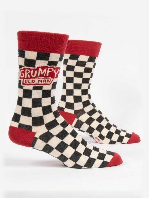 Grumpy Old Man M-Crew Sock
