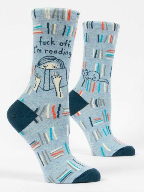 I'm Reading W-Crew Sock