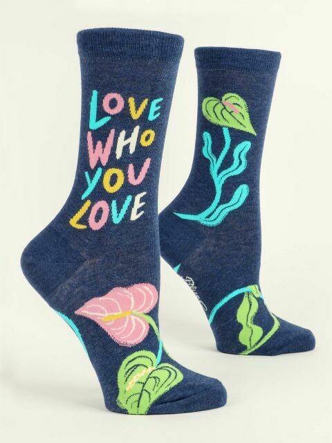 Love Who You Love W-Crew Socks