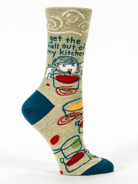 Get The Hell Out W-Crew Sock