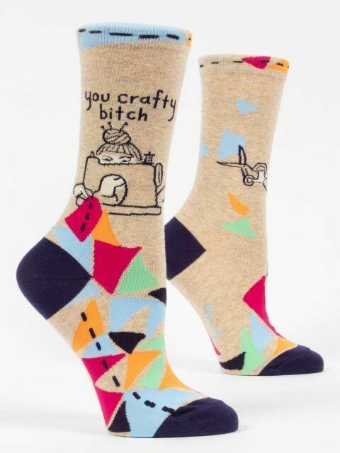 Crafty Bitch W-Crew Sock