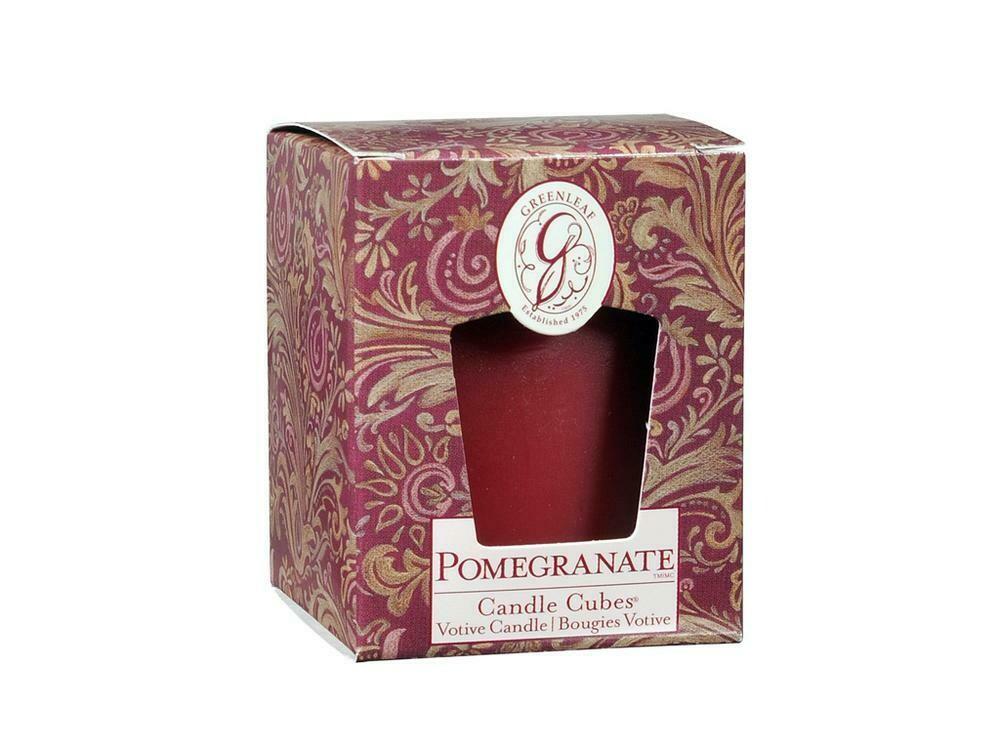 Pomegranate - Boxed Votive  (Reg $4.50 - FINAL SALE)