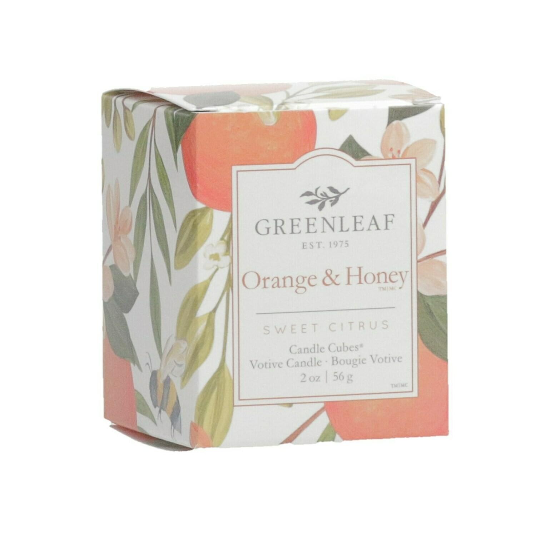 Orange & Honey NEW - Boxed Votive (FINAL SALE)