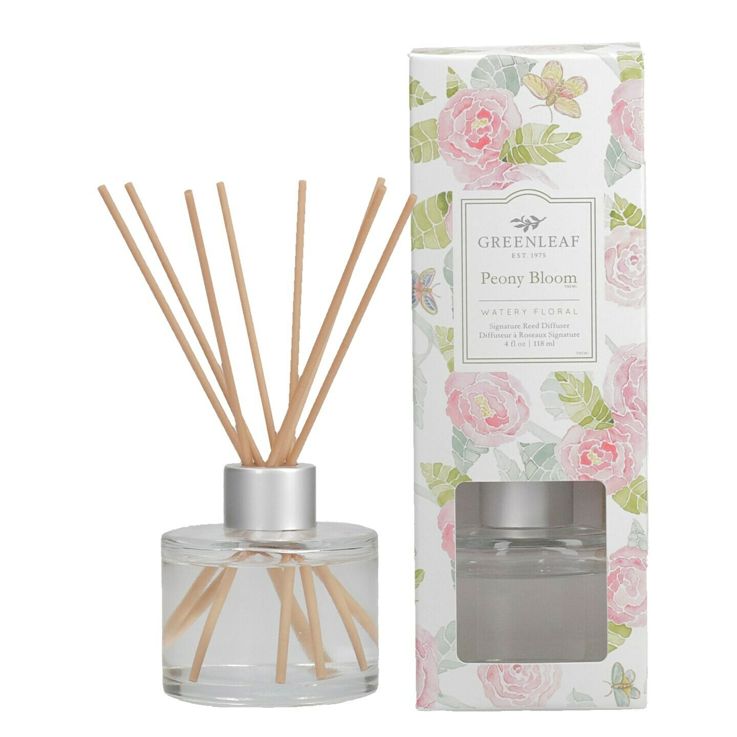Peony Bloom NEW - Reed Diffuser (FINAL SALE)